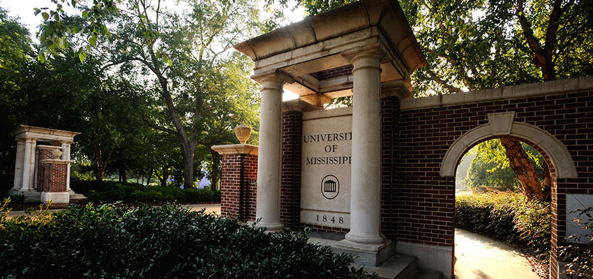University Avenue's entrance gates
